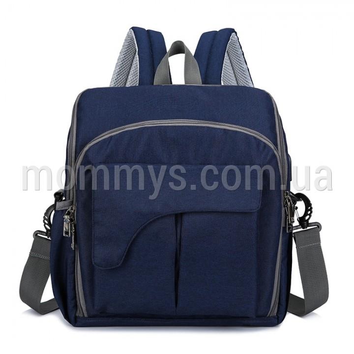 Рюкзак Для Мам Mini Evo (4в1) Синий, 9 л