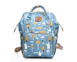 Сумка-Рюкзак Для Мам Ahong Мишки, 22 л