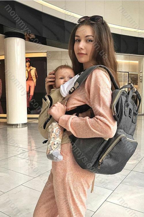 сумка для мам Original Gray