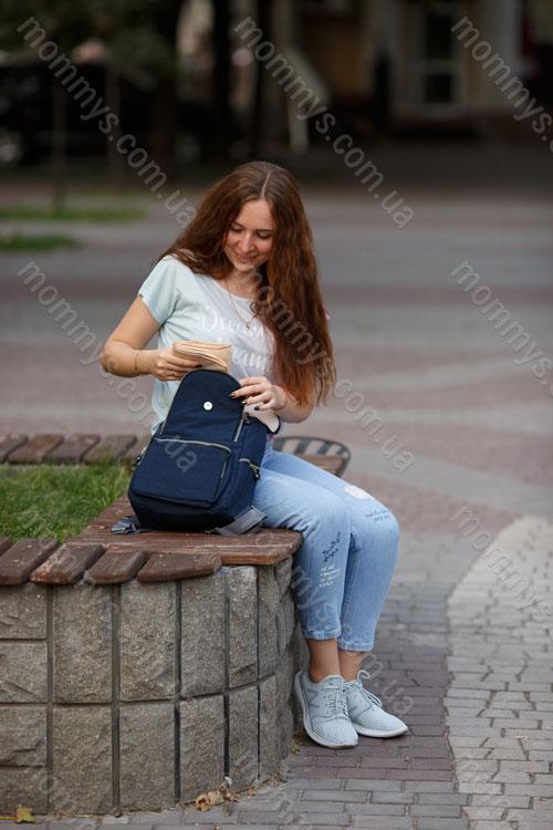 рюкзак для мам Easy Blue
