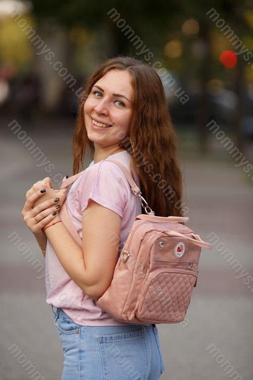 сумка для мам Aero Pink