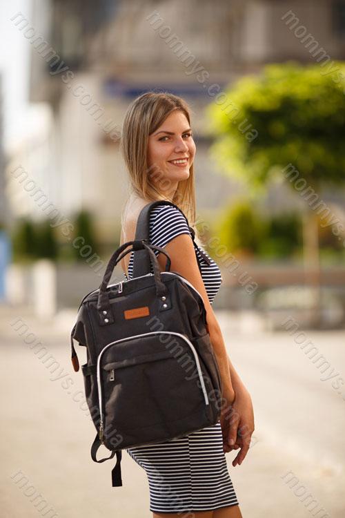 сумка для мам Prestige Black
