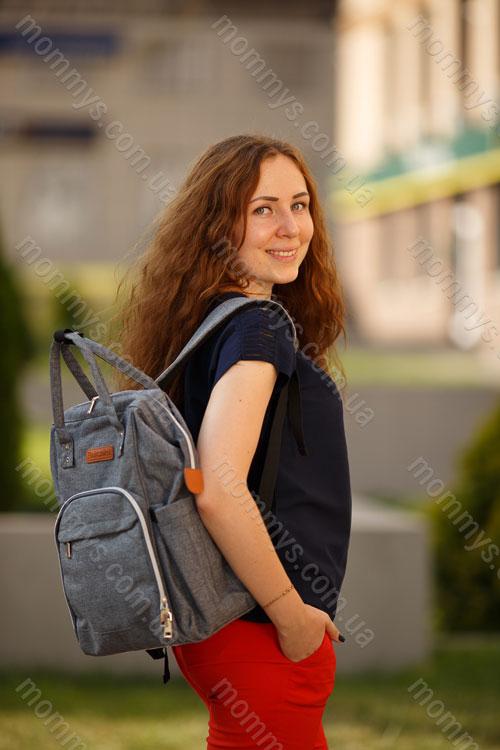 сумка для мам Prestige Gray