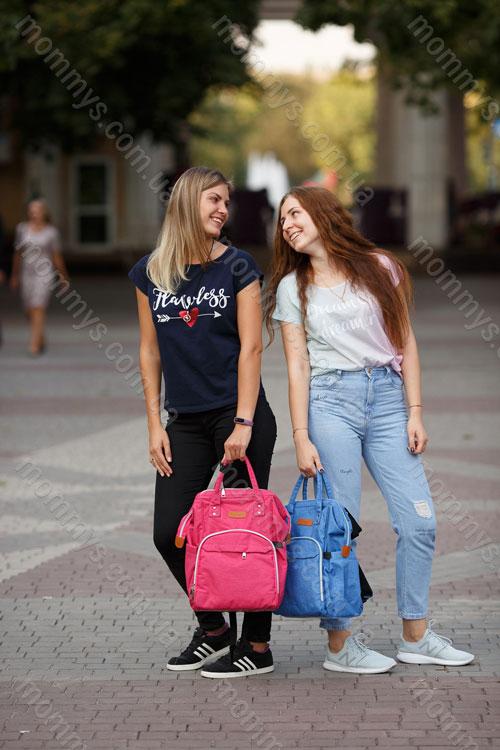 сумка-рюкзак для мам Prestige Blue