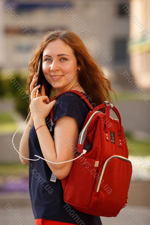 сумка для мам Urban Bordo