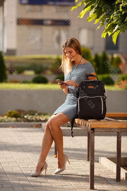 сумка для мам Vojage Black