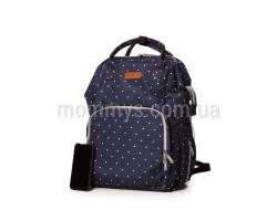 Сумка-Рюкзак Для Мам c USB Vojage Blue G., 24 л