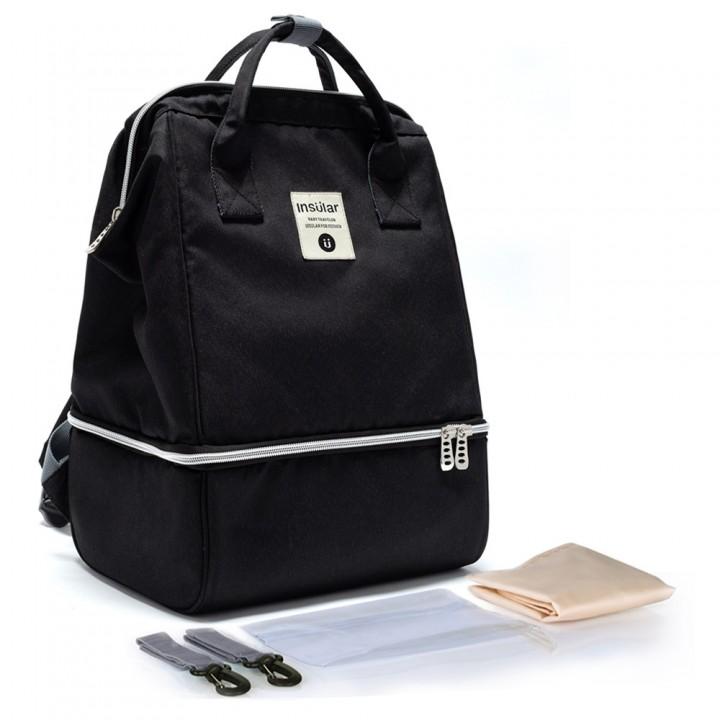 Рюкзак Для Мам Insular Bell Черный