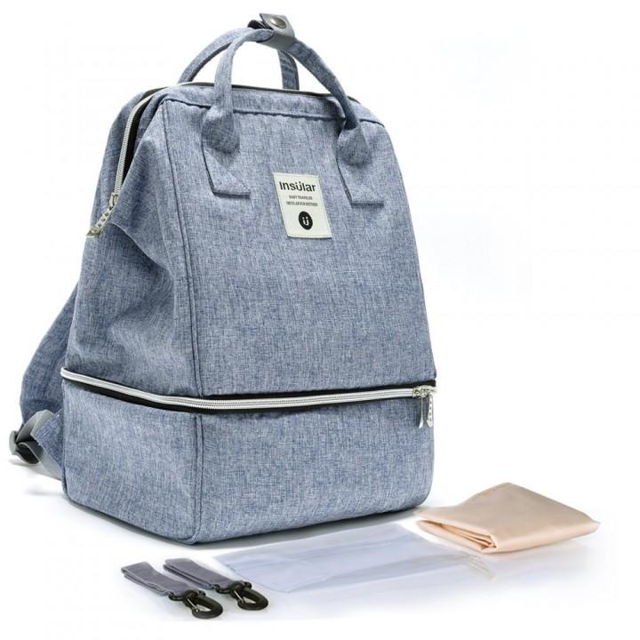 Рюкзак Для Мам Insular Bell Голубой