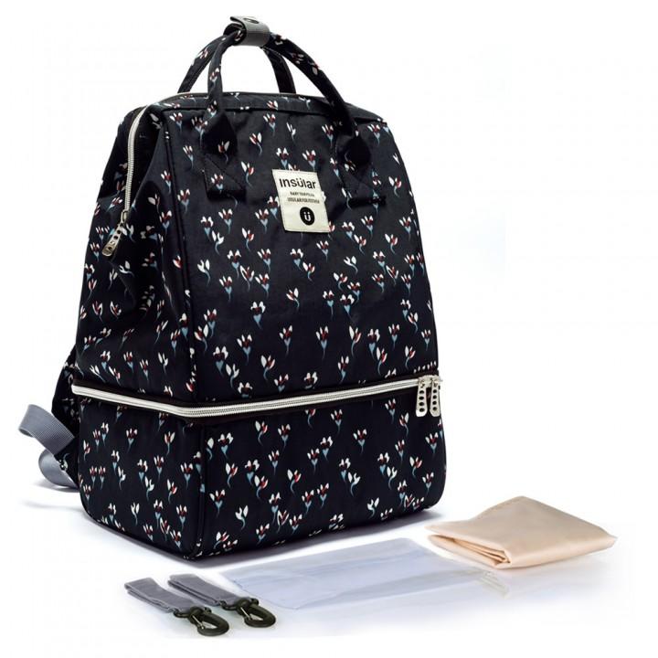 Рюкзак Для Мам Insular Bell Сине-черный