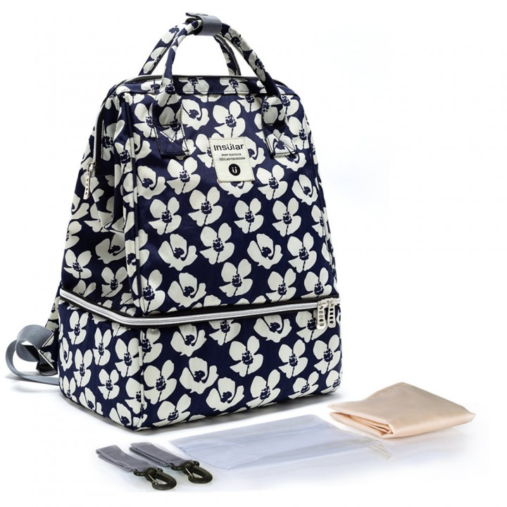 Рюкзак Для Мам Insular Bell Темно-синий