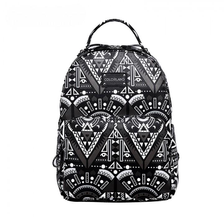 Рюкзак Для Мам изPU-кожи Colorland Геометрия