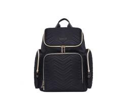Рюкзак Для Мам с USB Colorland Georgia Черный, 17 л