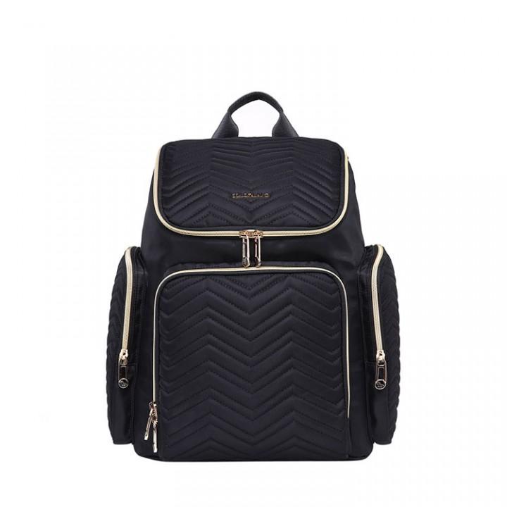Рюкзак Для Мам с USB Colorland Georgia Черный