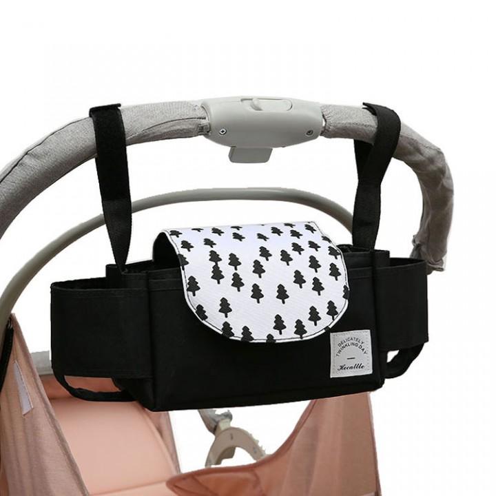 Сумка-органайзер для коляски Hecattle, Черная