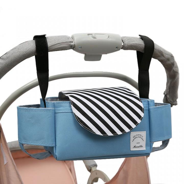 Сумка-органайзер для коляски Hecattle, Голубая