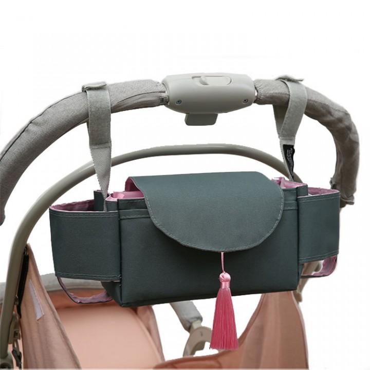 Сумка-органайзер для коляски Hecattle, Пыльный зеленый