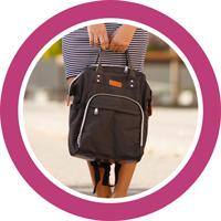 Сумки-рюкзак для мам
