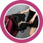Сумки и рюкзаки для мамы на коляску