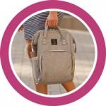 Средние размеры сумок и рюкзаков для мам