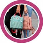 Мини размеры сумок и рюкзаков для мам