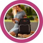 Сумки-рюкзак для мам с USB