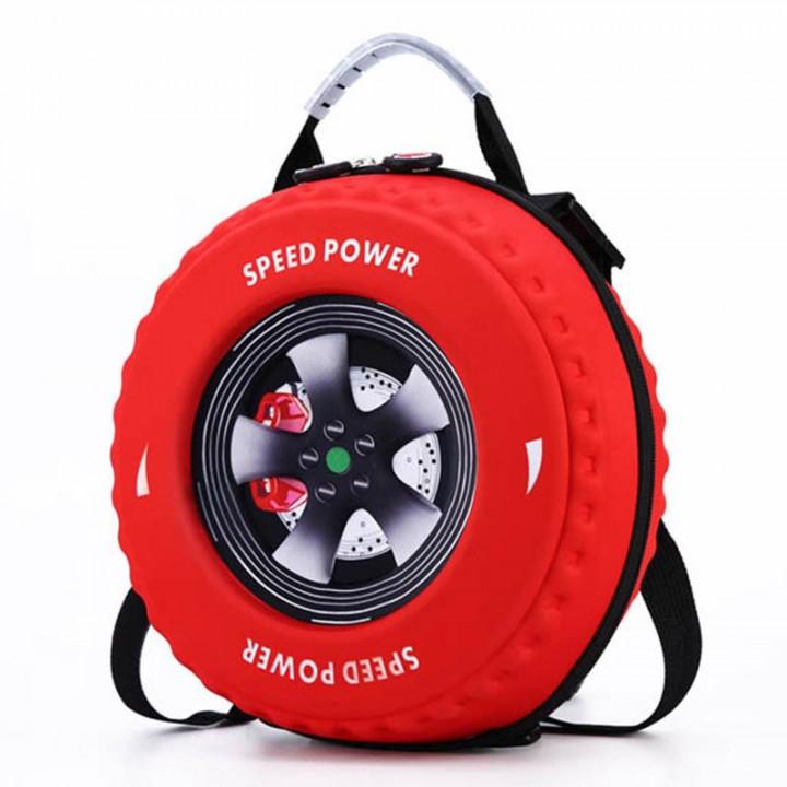 """Детский рюкзак """"Tire Boys"""" Красный"""