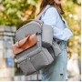 Сумка + Рюкзак Для Мам MergeBoon Серая