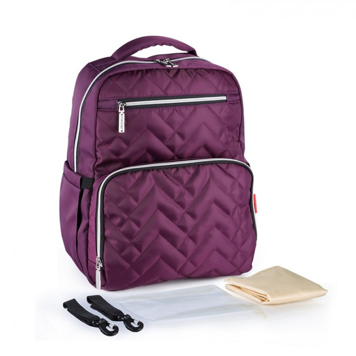 Рюкзак Для Мам Insular Quilt Пурпурный