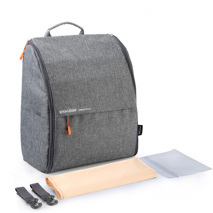 Рюкзак Для Мам Insular Urban Серый