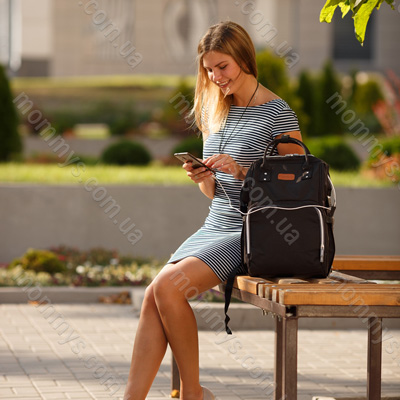 сумка-рюкзак для путешествий с ребенком